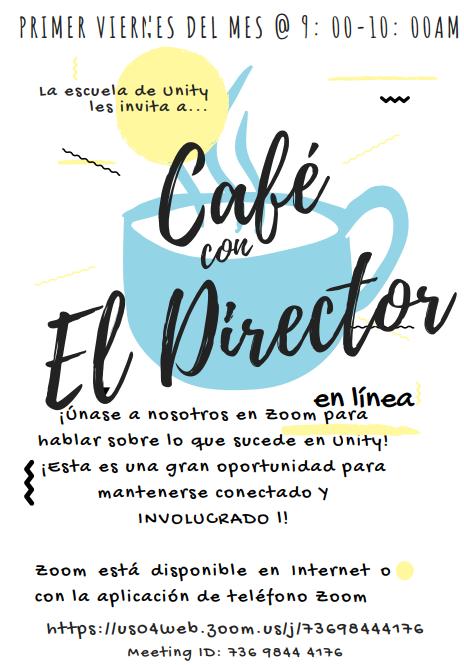 Coffee with Principal Spanish Flyer